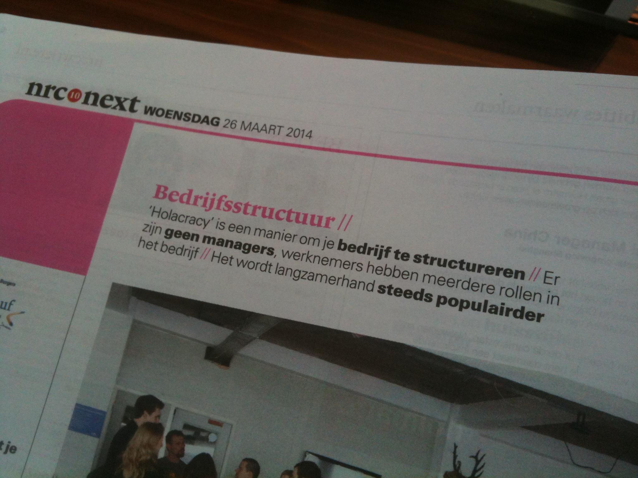 Holacracy in Nederland