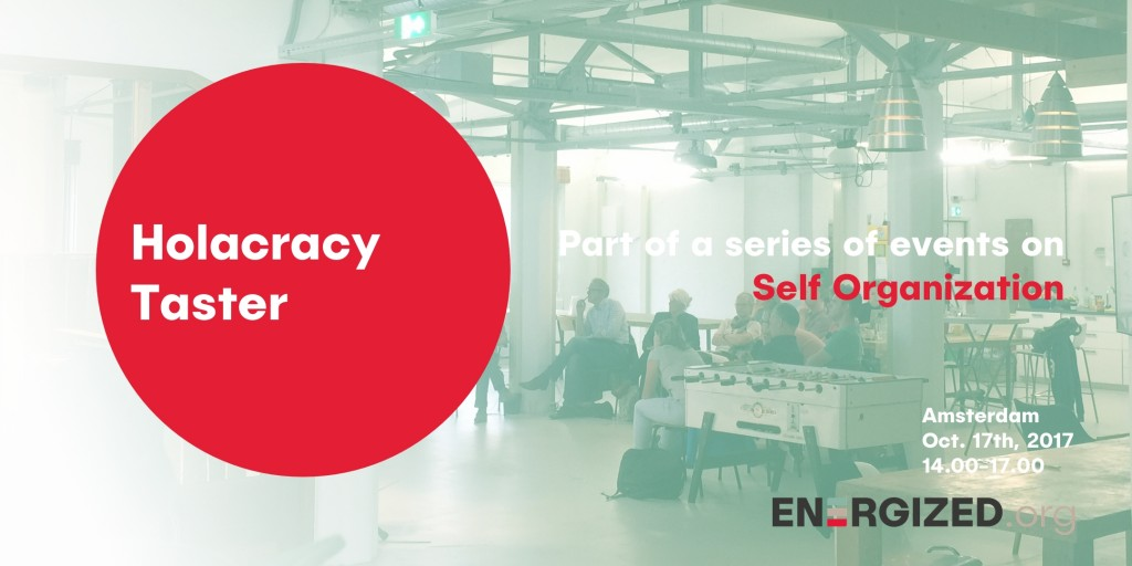 holacracy evenement