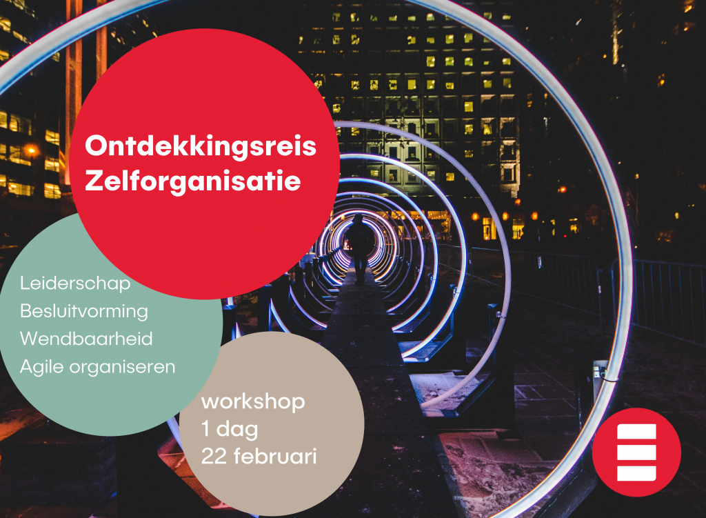 agile zelforganisatie evenement voor managers over leiderschap
