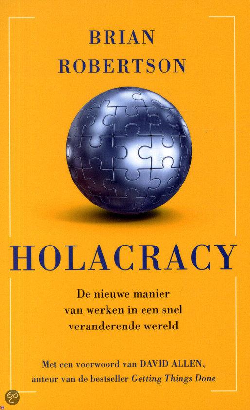 boek Holacracy nederlandse editie