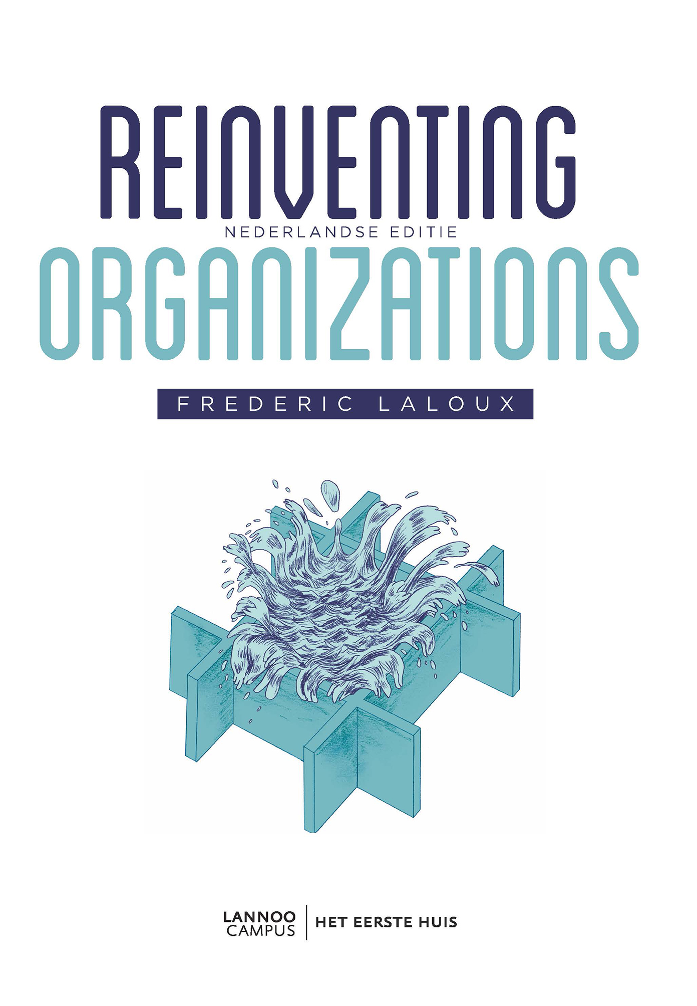 boek reinventing organizations frederic laloux