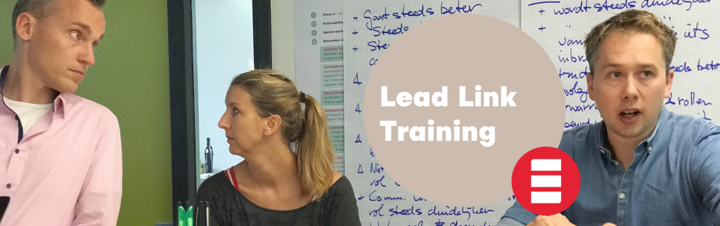 lead link training holacracy