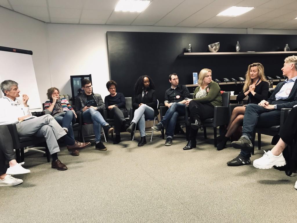 holacracy zelforganisatie meetup almere bij voiceworks