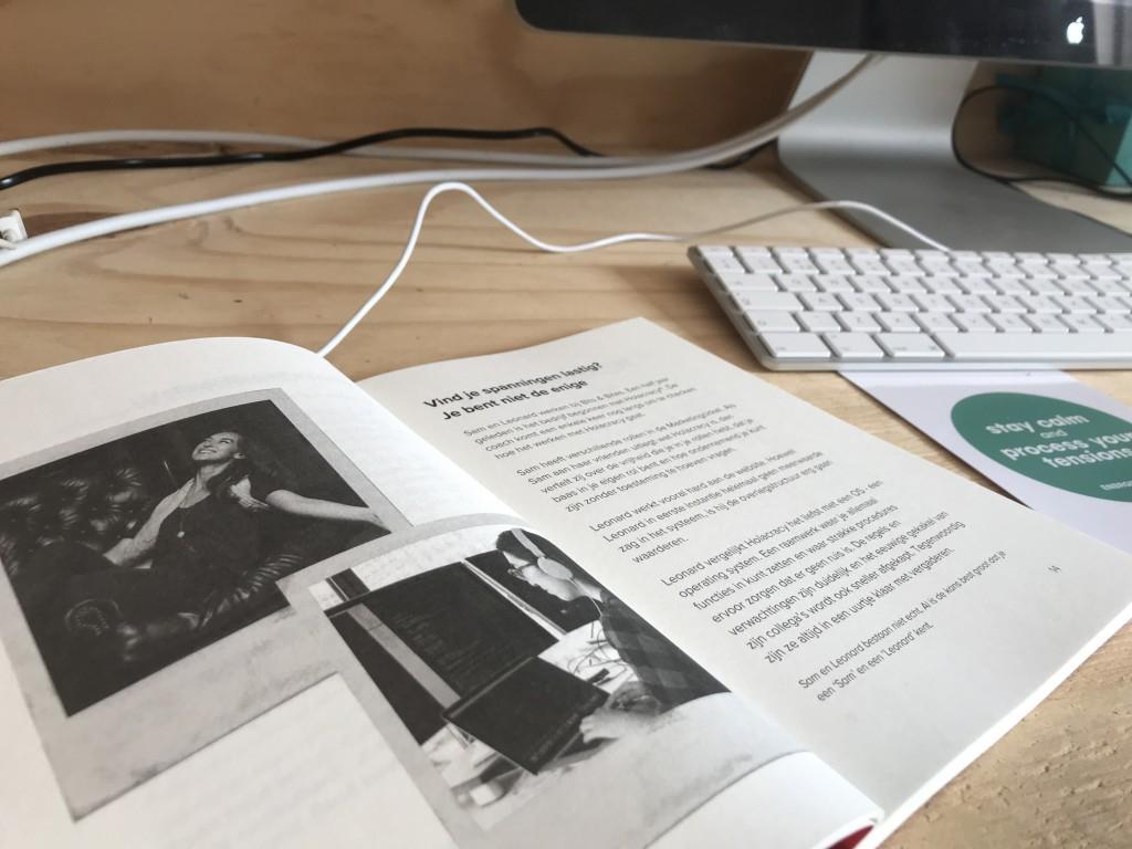 werkboek spanningen zelforganisatie holacracy