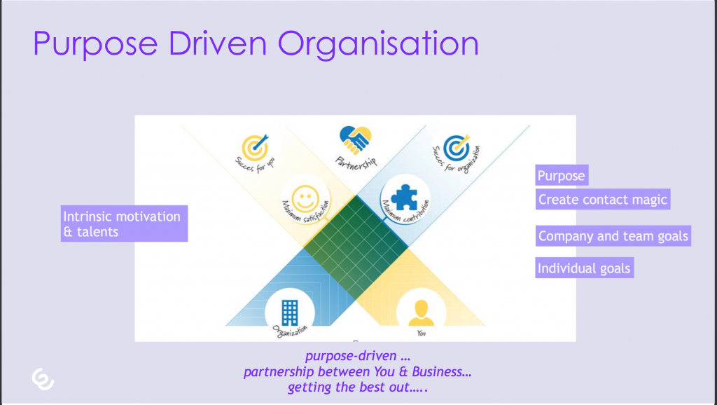 purpose driven organization