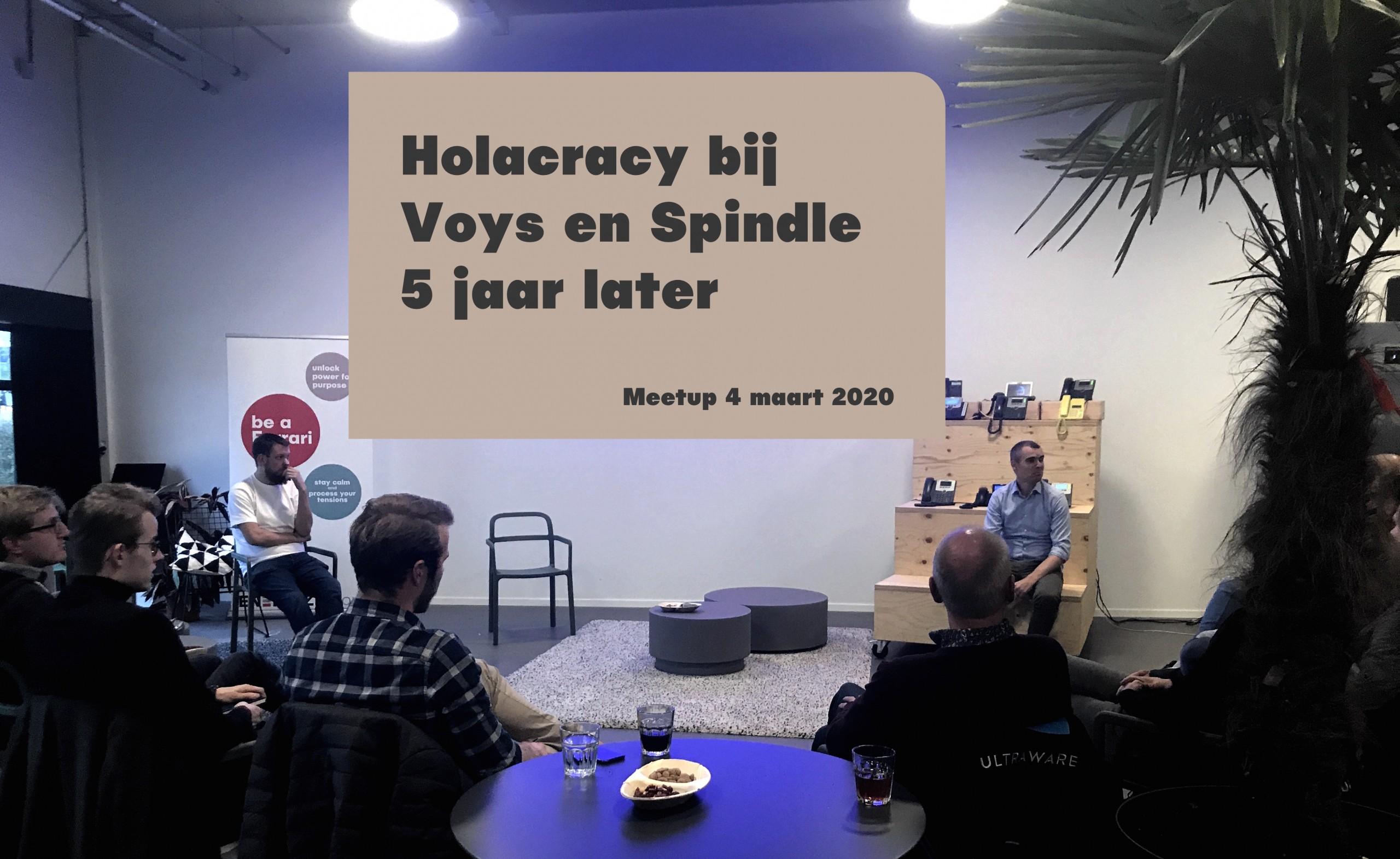 meetup spindle voys holacracy