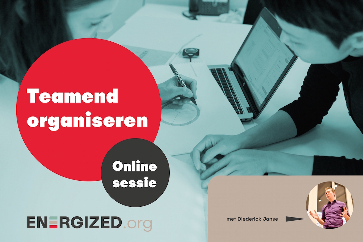 teamend organiseren online sessie