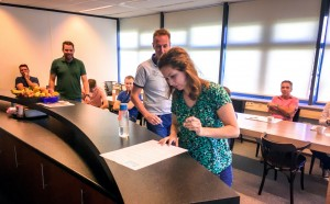 ondertekenen holacracy grondwet blue engineering