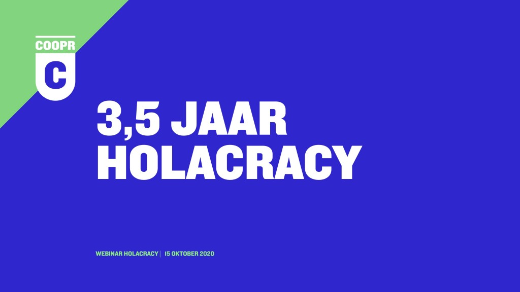 Holacracy webinar
