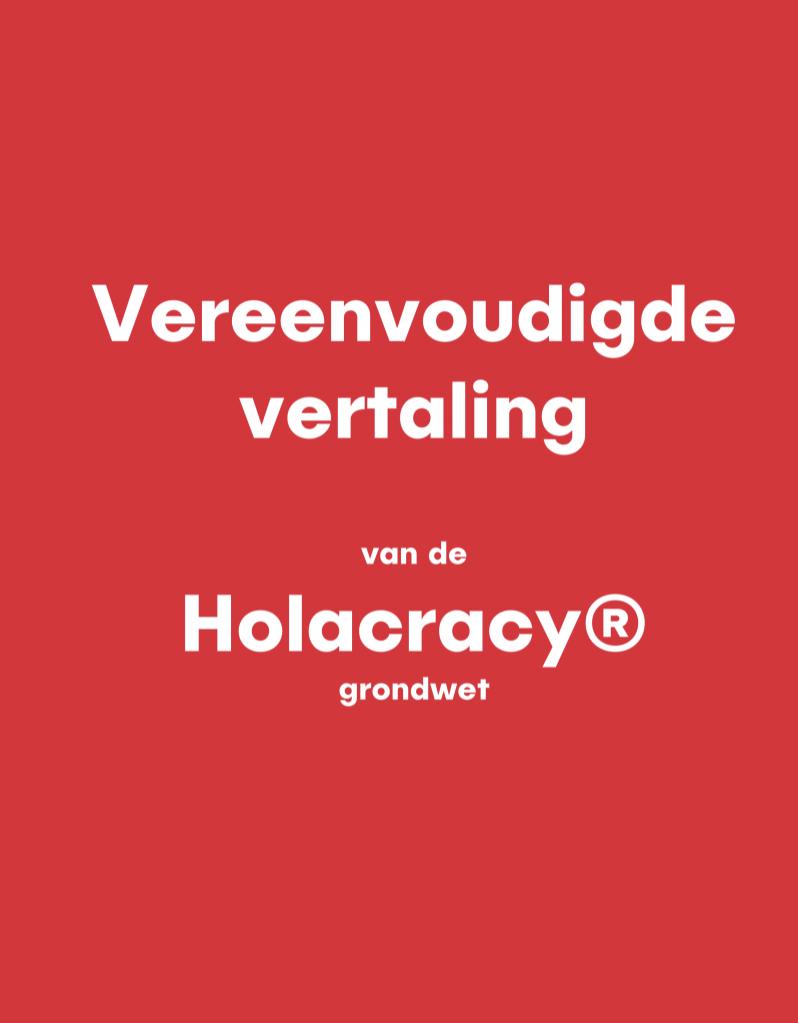 holacratie regels